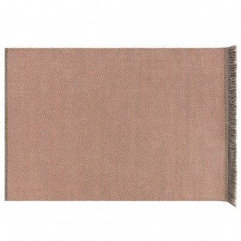 GARDEN LAYER DIAGONAL Rug - Peach