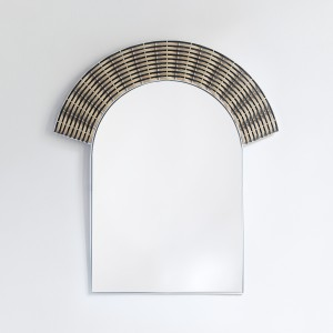 ARCHE mirror - black & natural