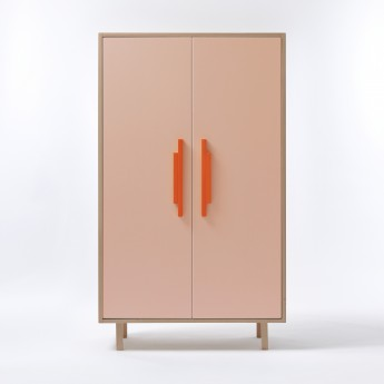 Armoire INVADER rose Gobelin