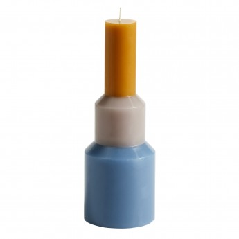 Bougie PILLAR - M - Bleu