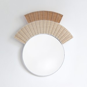 COIFFE mirror - light and dark natural