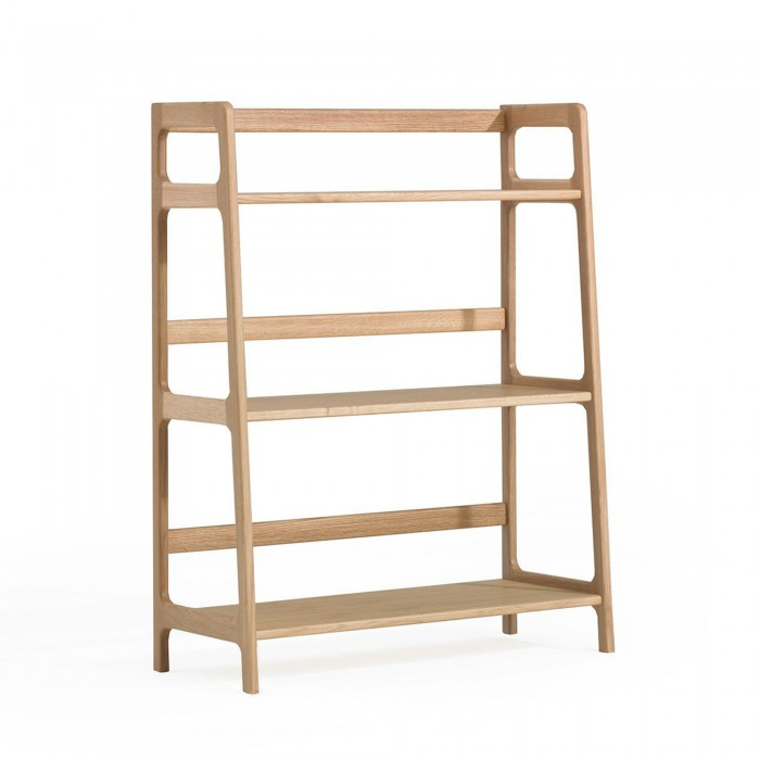 AGNES medium shelving unit walnut