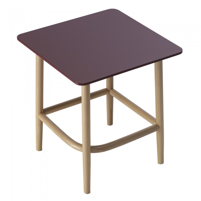 Coffee table SINGLE CURVE - Wood