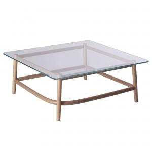 Coffee table SINGLE CURVE - Glass