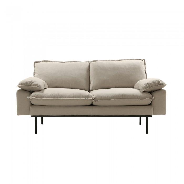 RETRO 2 seater sofa - Beige