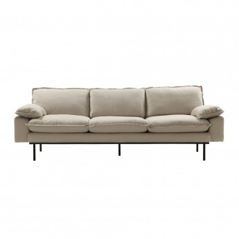 RETRO 4 seater sofa - Beige