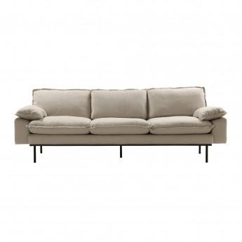 RETRO 4 seater sofa - Beige