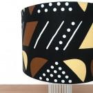 MAGIC Lamp Yellow/Brown fabric