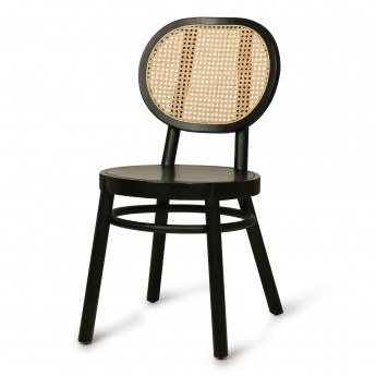WEBBING Chair - Black
