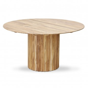 PILLAR Dinner table - Teak