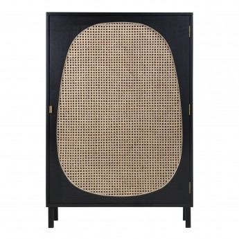 Petite armoire WEBBING - Noir