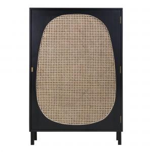WEBBING Small cabinet - Black