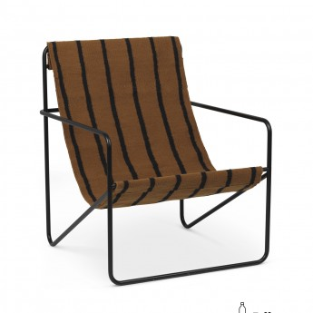 Fauteuil DESERT stripes
