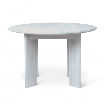 Table BEVEL ronde ice blue