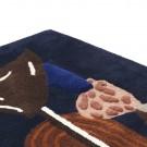 Tapis tufté décoratif mural BEVY