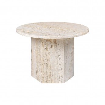 Table basse EPIC S - travertin