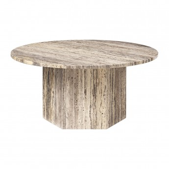 EPIC table M - travertine