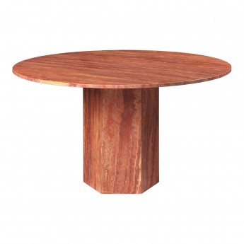 EPIC dining table - red travertine