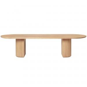 MOON table oiled oak - 300 x 105