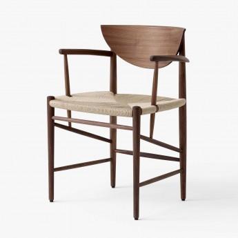 DRAW chair oiled walnut