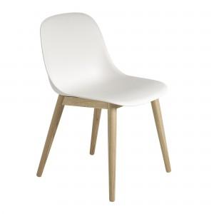 Chaise FIBER side - Base bois