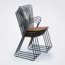 Chaise PAON noire