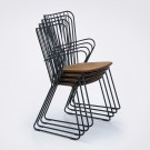 PAON dining chair black