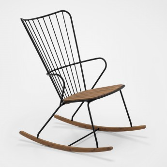 PAON rocking chair black