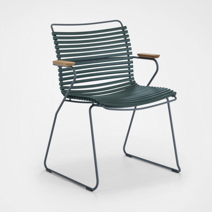 Chaise CLICK pine green