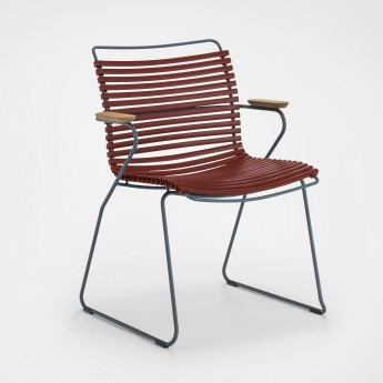 Chaise CLICK paprika