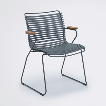 CLICK chair dark grey