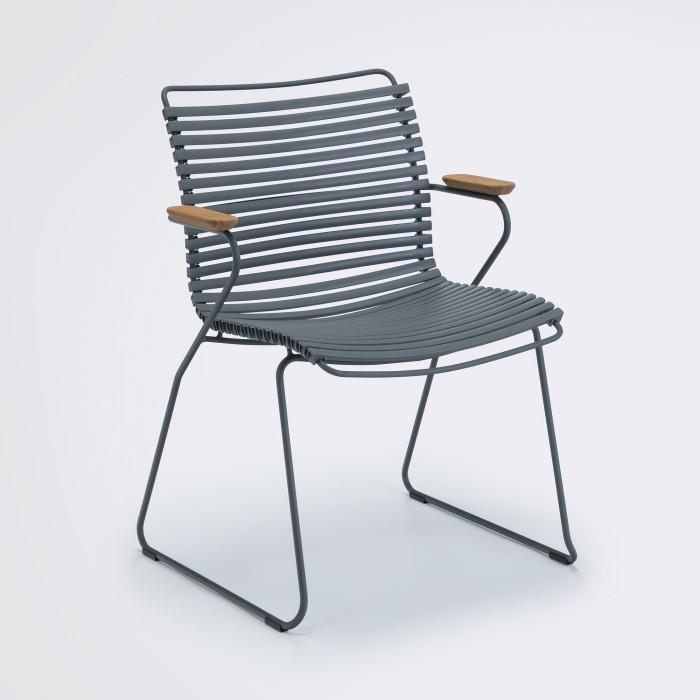CLICK chair dark grey