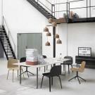VISU chair woodbase