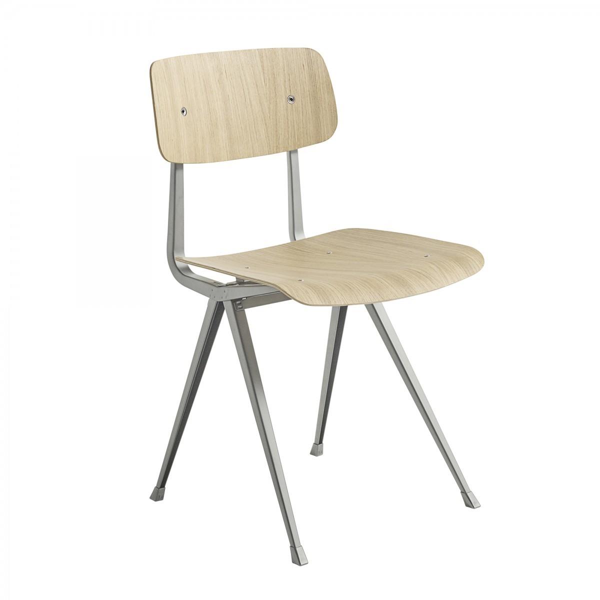 Teinte De Gris Clair chaise result acier beige gris - chêne teinté gris clair - hay