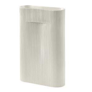 RIDGE Vase - Off white