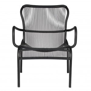 LOOP LOUNGE Armchair - Black