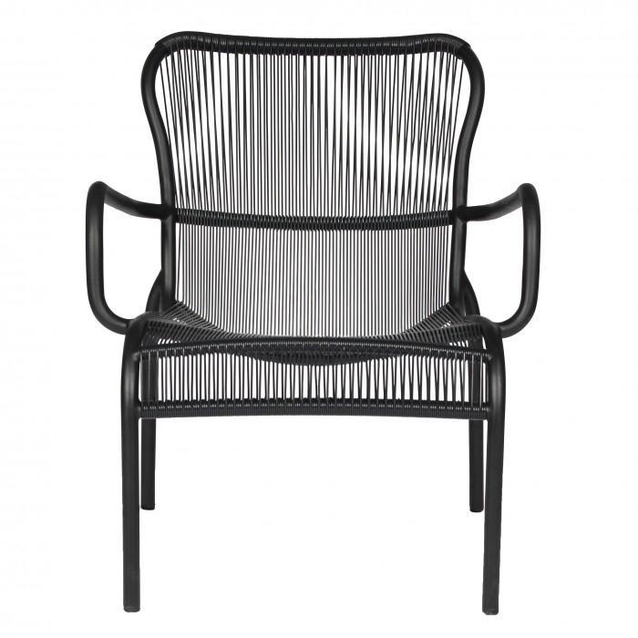 LOOP LOUNGE Armchair - Black