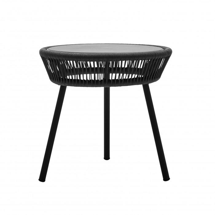 LOOP Side table - Black