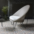 JOE COCOON Armchair - Black steel