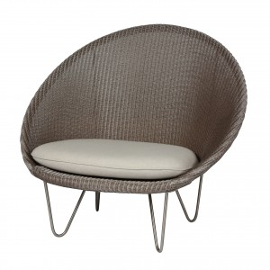JOE COCOON Armchair - Steel