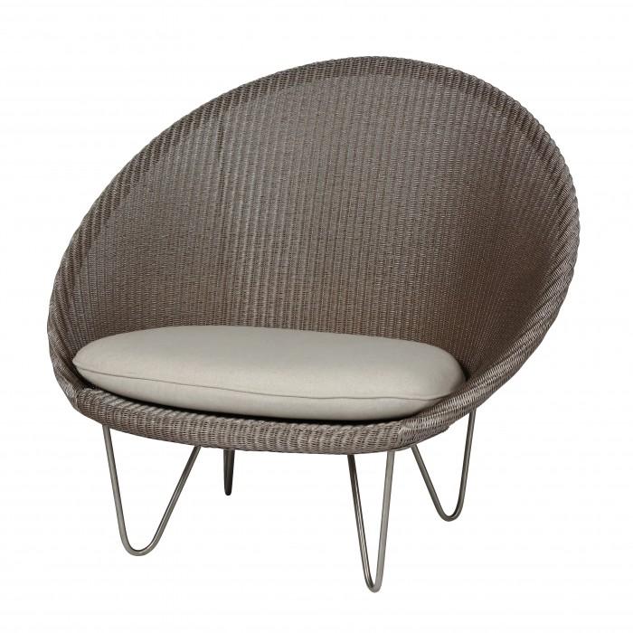 JOE COCOON Armchair - Black steel