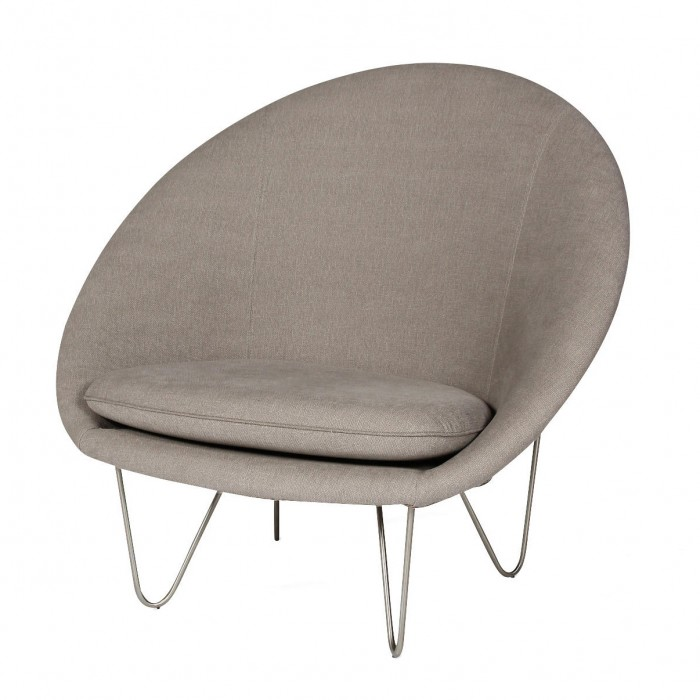 JOE COCOON DELUXE Armchair - Steel