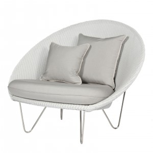 JOE LOUNGE Armchair - Steel