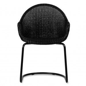 Chaise cantilever AVRIL - Dossier haut