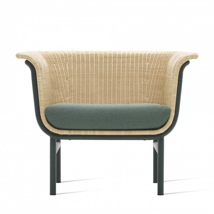 WICKED dark green armchair