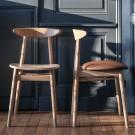 Chaise TEO - Cuir marron