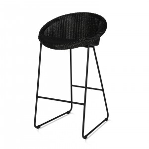 JOE Counter stool - Black steel