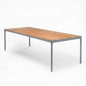 FOUR rectangular table