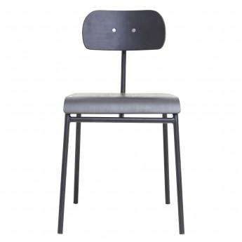Chaise SCHOOL - Noir