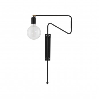 SWING Wall lamp - Black